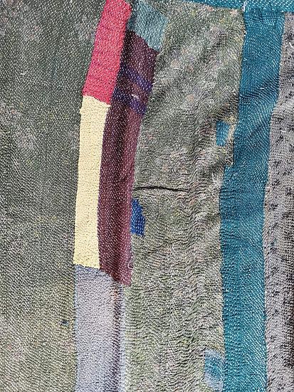 010 Indian Cotton patchwork Quilt Bedspread