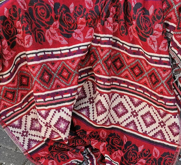 YK02 TIBET handloom Yak wool shawls 100x200 cms