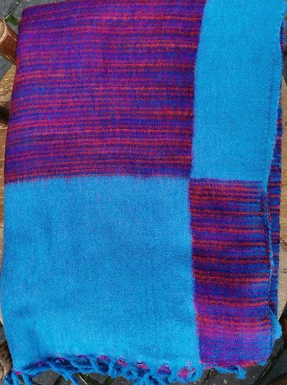TB03 Tibetan Yak Wool Shawl