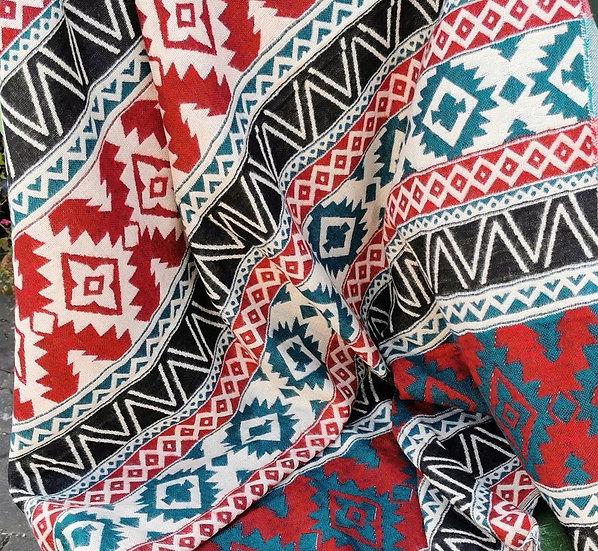 YK09 TIBET handloom Yak wool shawls 100x200 cms