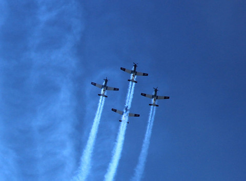 Fly-by, Israel Independence Day, May 202