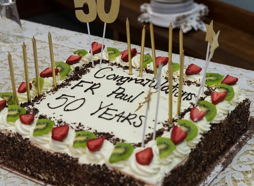 Fr Paul's 50th Anniversary