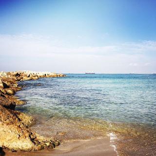Der Strand von Bat Galim ist eine wunderbare Gassi- oder Spazier-Strecke :)