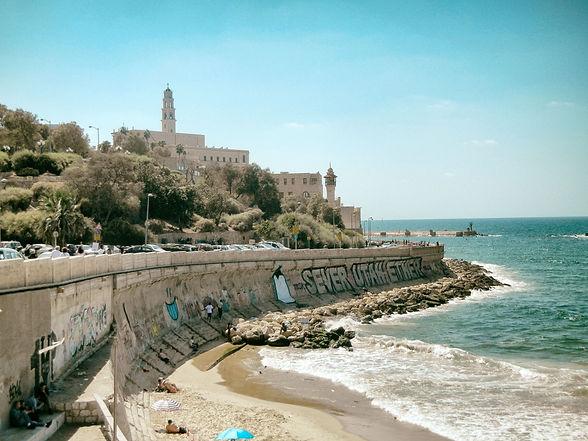 Jaffa Yafo Tel Aviv Beach Mediterranean Sea Israel