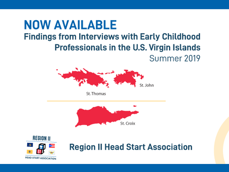 Disaster Recovery Challenges Faced by Early Childhood Professionals in the U.S. Virgin Islands