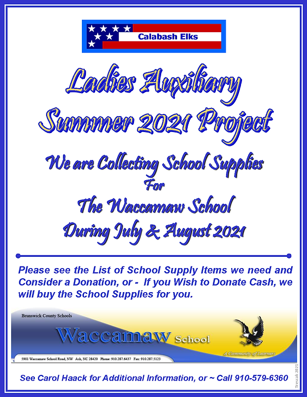 Flyer w List - Ladies AUX School Supply Project - Summer 2021 - v1_Page_1.png