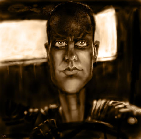 Caricature of Furiosa by Stephen Case, Hong Kong