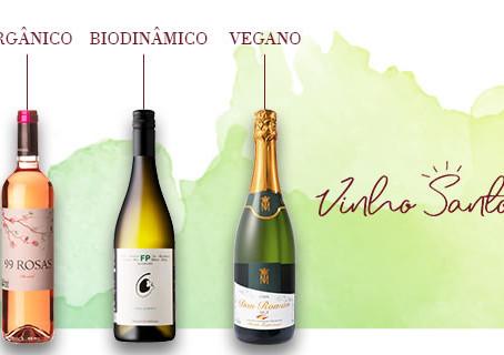 Vinhos Orgânicos, Biodinâmicos e Veganos
