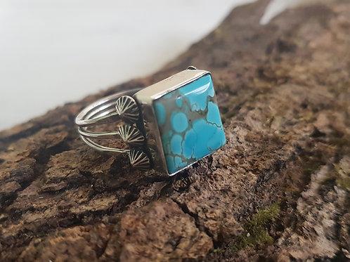 Pilot Mountain Turquoise Ring