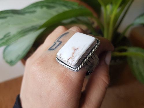 Wild Horse Magnesite Ring