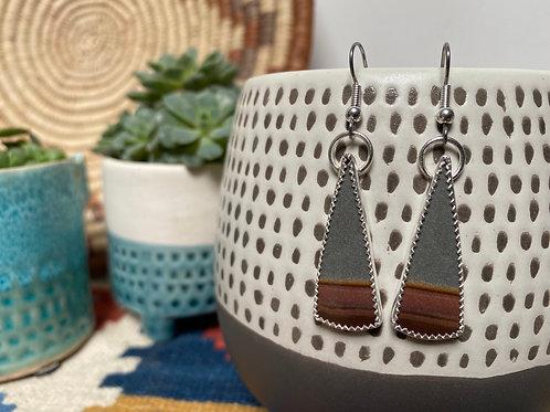 Jasper Desert  Earrings