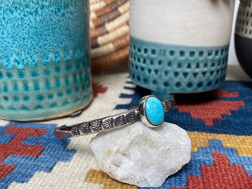 Bluebird Turquoise Cuff