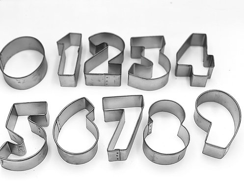 """""""It's Just a Number"""" Cookie Cutters"""