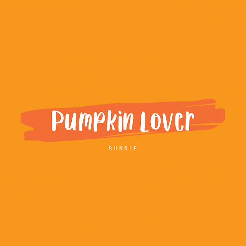 """Pumpkin Lover"" Bundle"