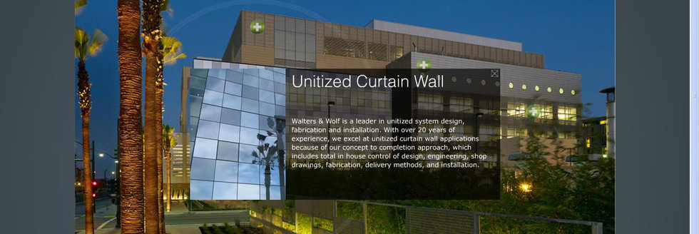 curtain wall photo element
