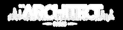 JWThe Architect - Logo Clean - White on