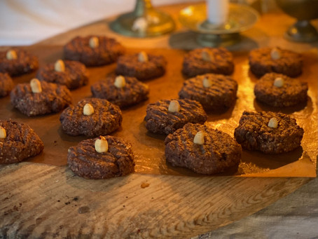 Distansutbildning och goda vinter cookies