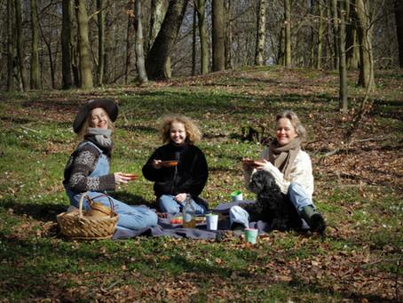 Ramslök och vårens första picknick