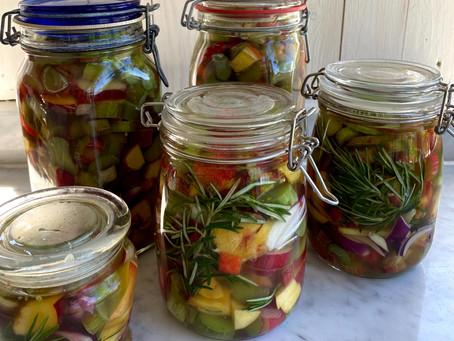 Picklade rabarber, sommar på en burk!