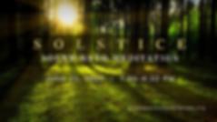 Solstice Sound Bath Meditation June 2020