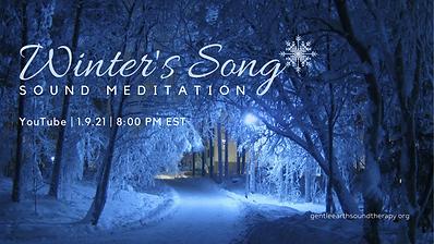 Winter's Song Sound Meditation 1 Jan 202