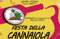 Festa della Cannaiola a Marta