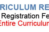 ENTIRE CURRICULUM REGISTRATION