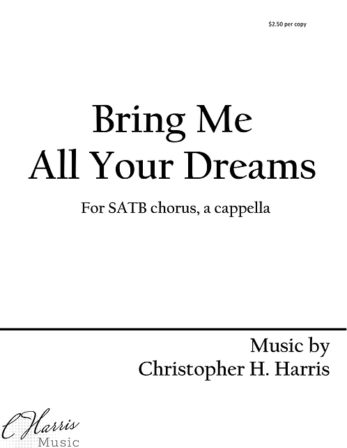 Bring Me All Your Dreams