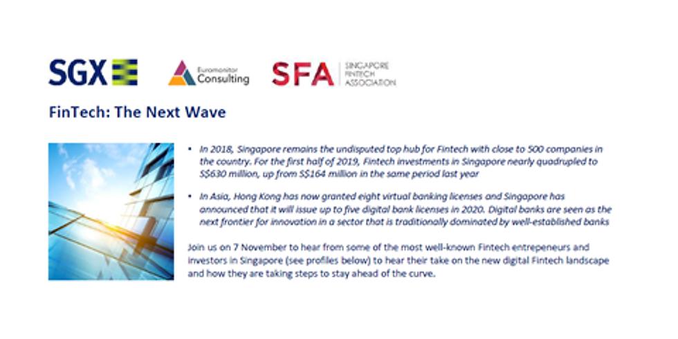 Fintech The Next Wave