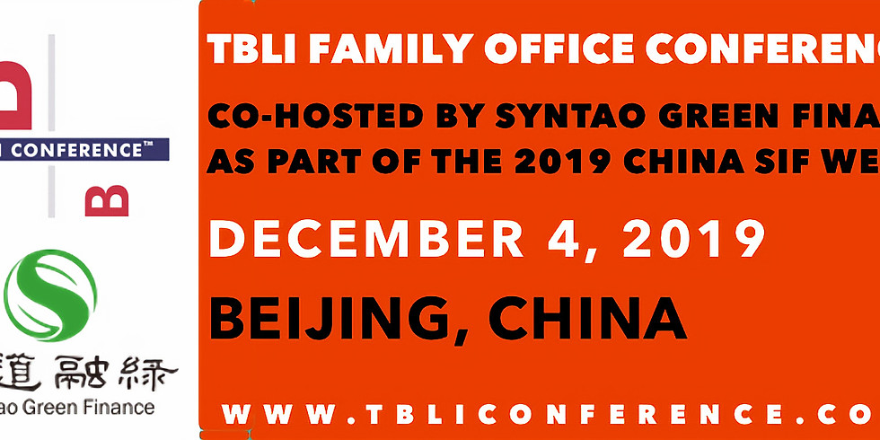 TBLI FAMILY OFFICE CONFERENCE