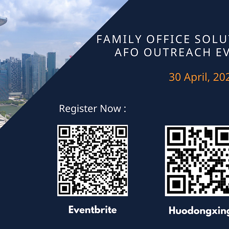 2021 Family Office Solutions Showcase – AFO Singapore Outreach