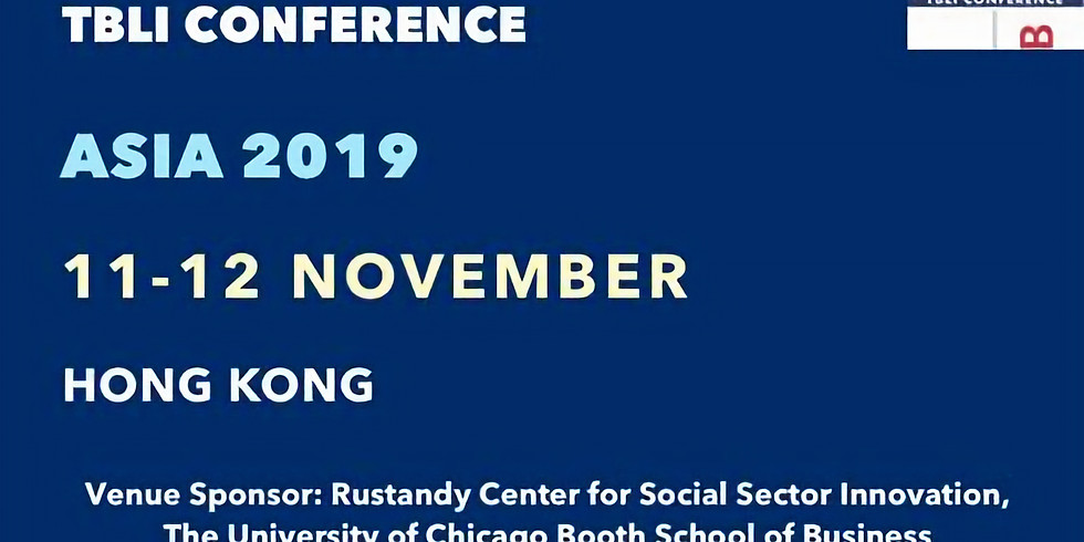 The 37th TBLI CONFERENCE ASIA