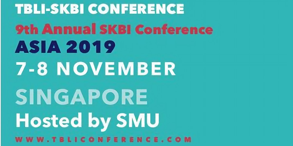 The 36th TBLI-SKBI CONFERENCE ASIA
