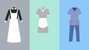 El uniforme que invisibiliza a las empleadas del hogar: