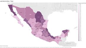 Otros datos sobre el feminicidio en México