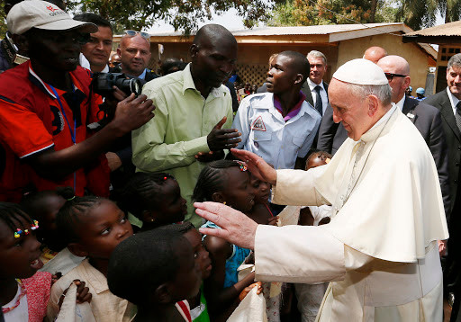 Holy Father expresses solidarity with Pontifical Mission Societies