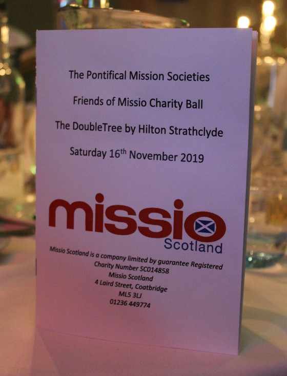 Missio Scotland Charity ball