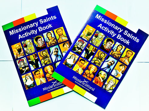 Missionary Saints Activity Book