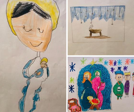 2019 Christmas Artwork Contest Winners