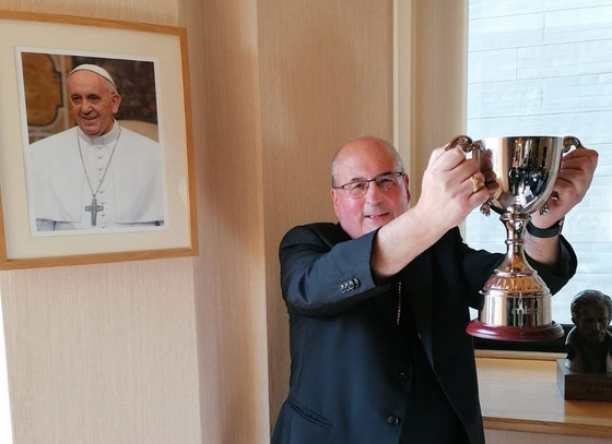 Archbishop is up for the cup!