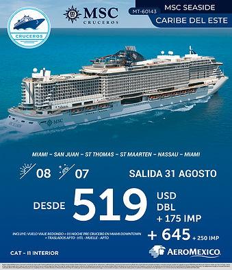 cruceros caribe del este