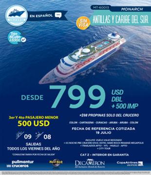 crucero antillas
