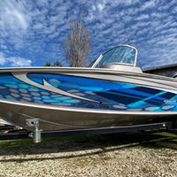 Custom Design Boat Wrap
