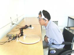 Brain Controlled Assistive Robotics