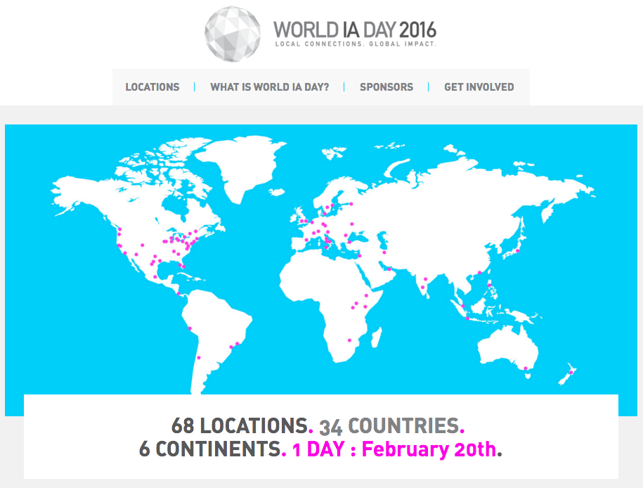 World Information Architecture Day