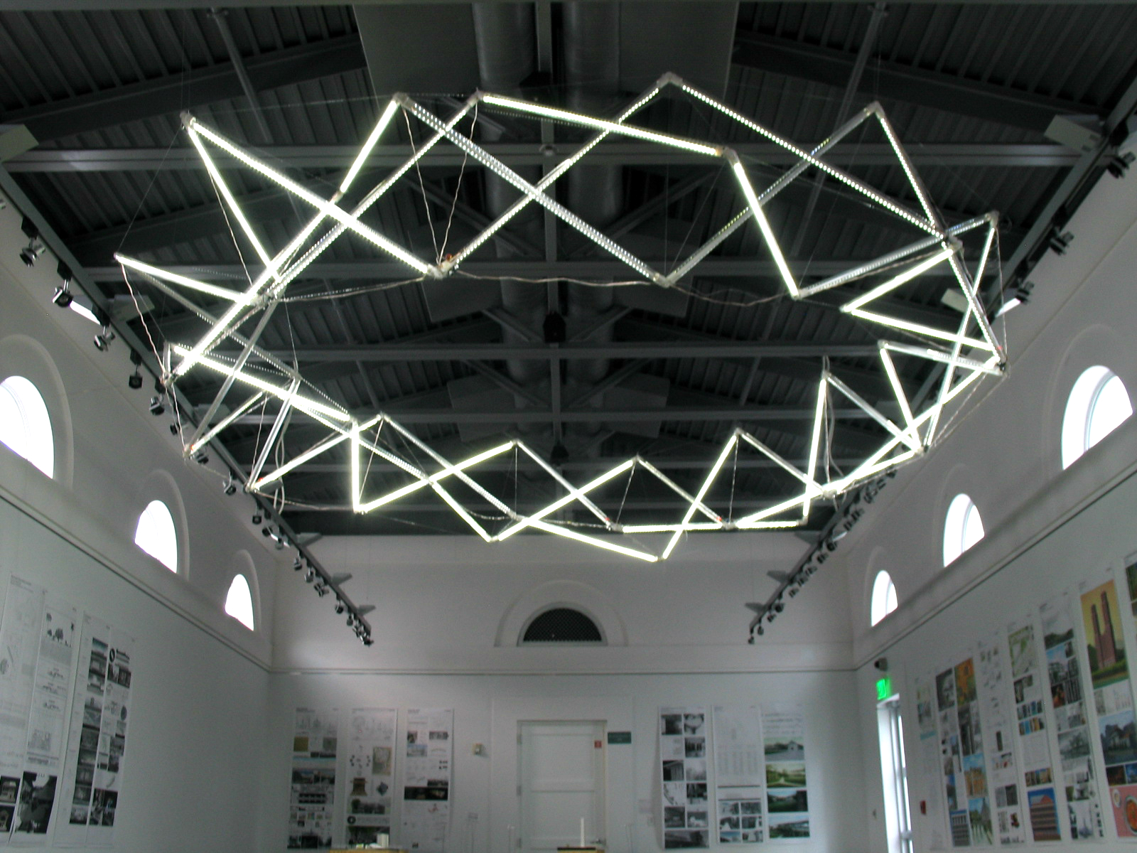 Tensegrity Lighting Project