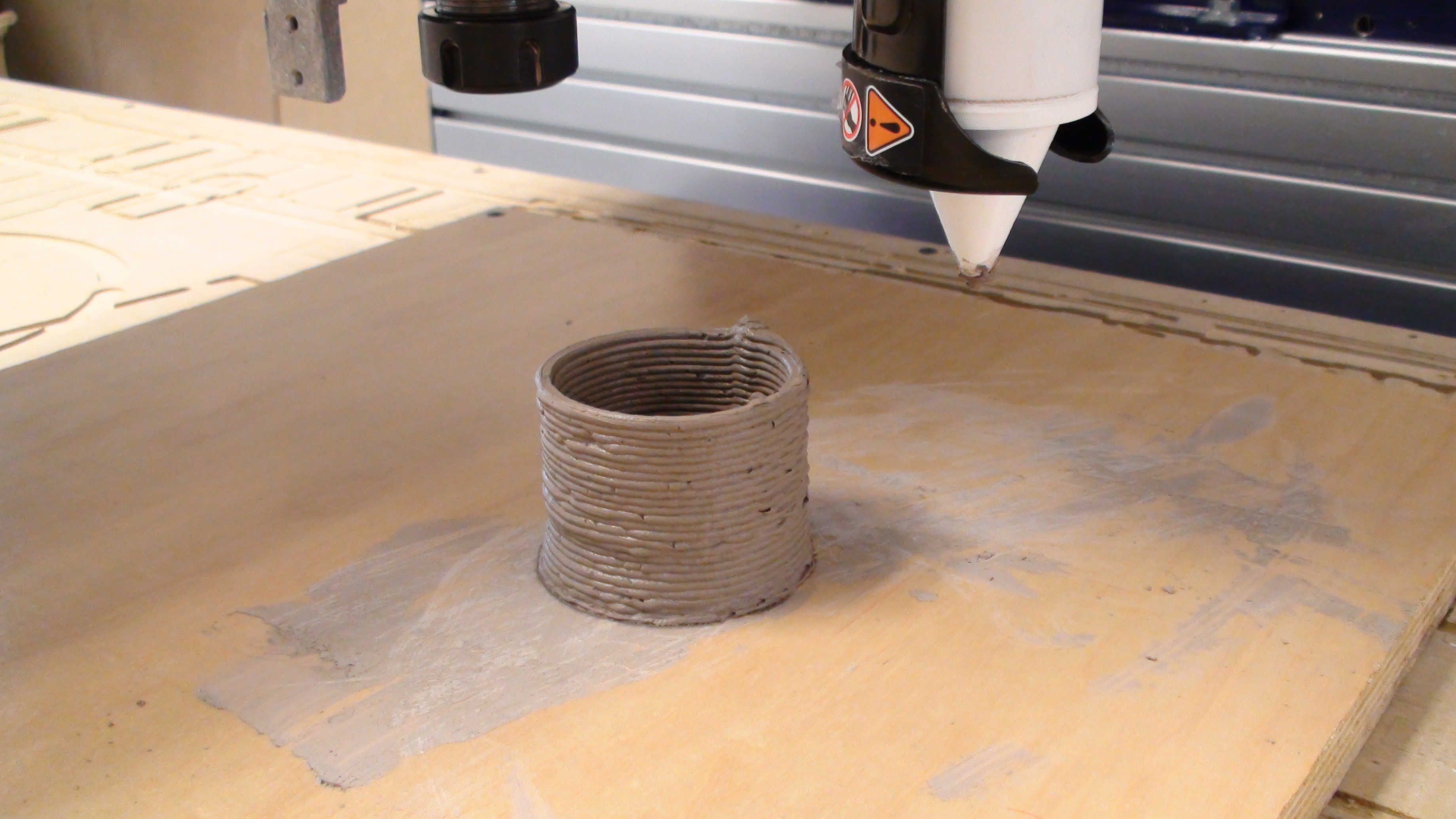 Clay 3D Printing