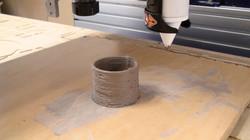 Clay 3D Printing