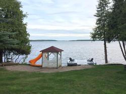 swimming-dock view