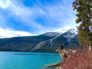 My fall ritual at Emerald Lake Lodge